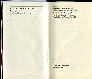 Verfall und Untergang des Römischen Reiches. Herausgegeben: Gibbon, Edward /