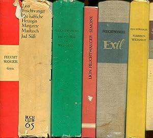 Sammlung / Konvolut von 13 Bänden (13: Feuchtwanger, Lion