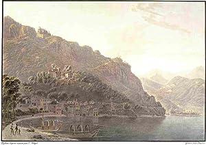 Il Lago di Como. Voyage pittoresque au: Wetzel Johann Jacob
