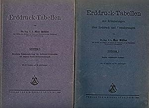 Erddruck-Tabellen. Lieferung 1 und 2. Mit Erläuterungen über Erddruck und Verankerungen. Erweiterte...