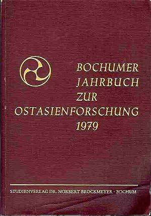 Bochumer Jahrbuch zur Ostasienforschung. Band 2, 1979.: Abteilung für Ostasienwissenschaften der ...