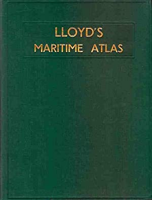 Lloyd's (Lloyds) maritime atlas. Including A Comprehensive: Shipping Editor at