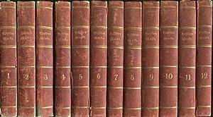 Schillers sämmtliche Werke. In zwölf Bänden. Bd. 1 - 12 (so komplett).: Schiller, Friedrich von