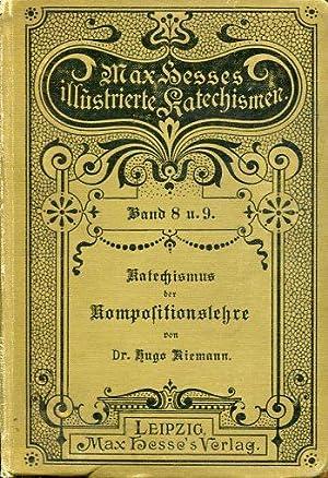 Grundriß der Kompositionslehre. Musikalische Formlehre. 1. Theoretischer Teil, Allgemeine ...