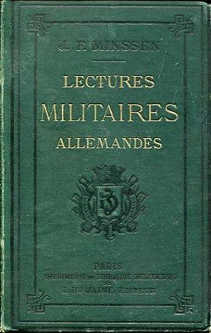 Lectures Militaires Allemandes.: Minssen, J. E.