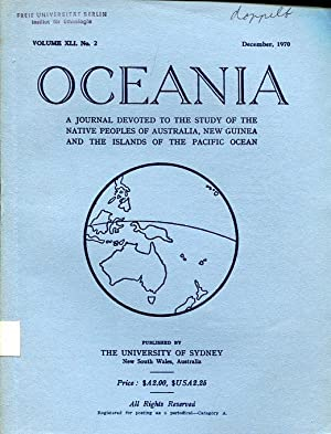 Oceania : A Journal devoted to the: Elkin, A.P. (Editor)