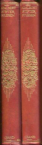 Studien (in 2 Bänden), Einleitung zur neuen Ausgabe von Johannes Schlaf, Buchausstattung von Carl ...