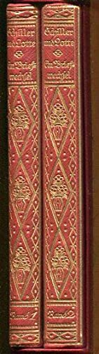 Schiller und Lotte. Ein Briefwechsel. 2 Bände.: Schiller, Friedrich / Lengefeldt, Charlotte von