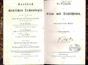 Die Erzeugung der Eisen- und Stahlschienen. Eine hüttenmännische Studie.: Petzholdt, Alphons: