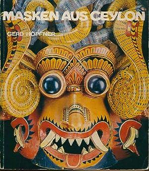 Masken aus Ceylon.: Höpfner, Gerd