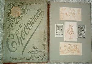 Aus Daniel Chodowiecki's Künstlermappe. 98 Handzeichnungen und Aquarelle in Facsimiledruck. ...