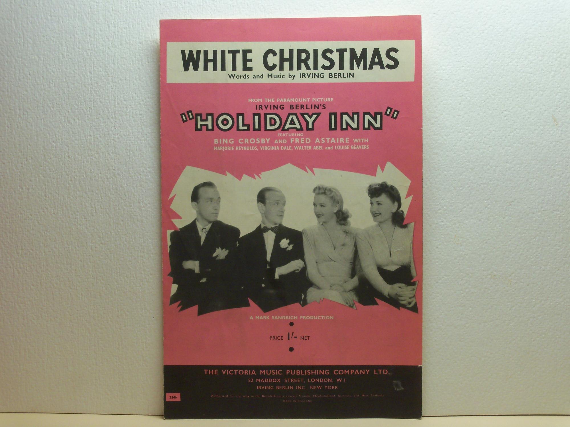 White Christmas Irving Berling.White Christmas Sheet Music