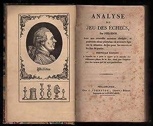 Analyse du jeu des échecs : avec: Philidor (François-André Danican)