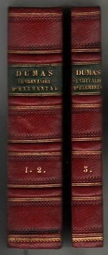 Le Chevalier d'Harmental. Par --. Tom Premier: Dumas, Alexandre [and