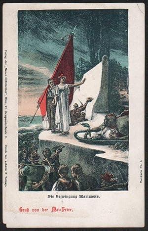 Mai-Karte Nr. 1., 2. (Die Bezwingung Mammons [The Defeat of Mammon], Völkermai [People's May])