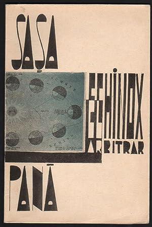 Echinox Arbitrar. Coperta si desene de M.: Pana, Sasa] Pana