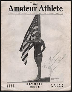 The Amateur Athlete. Official Publication A[mateur]. A[thlete]. U[nion]. of the United States. Ol...