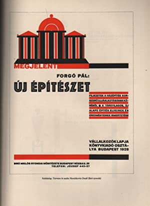 Magyar Grafika. IX. év 7-8. szám. [Hungarian Graphics. Year 9. No. 7-8.]: Biró, ...