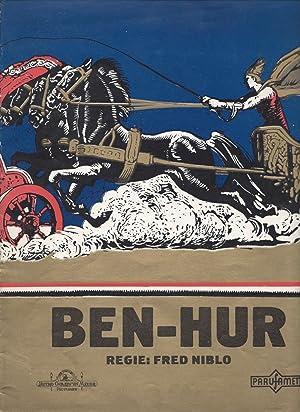 Ben Hur. [Motion Picture Program.]: Wallace, Lew]; [Niblo,
