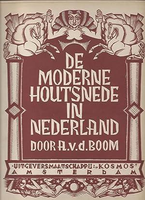 De moderne houtsnede in Nederland. een overzicht: Boom, Johan Anton