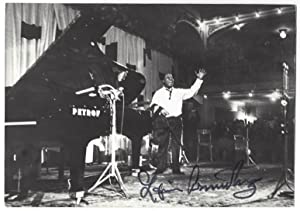 Signed photo of Louis Armstrong
