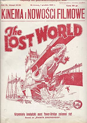 The Lost World. (Kinema. Nowo?ci filmowe. Rok: O'brian, Willis], Baumritter,