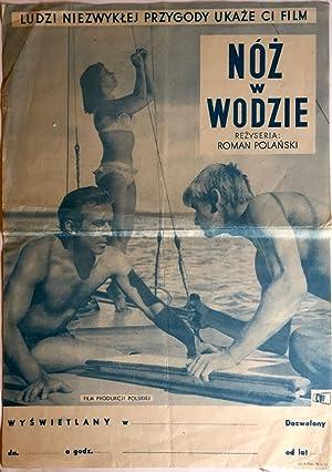 """Original Poster of the film """"Knife in: Roman, Polanski]"""