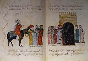 Maqamat Al-Hariri Illustrated By Y. Al-Wasiti. 13th: AL-HARIRI, Abu Mohammed