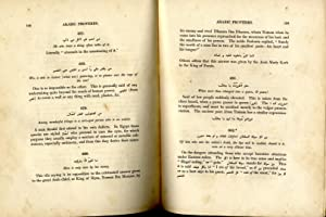 Arabic Proverbs, Or the manners and customs: Burckhardt, John Lewis.