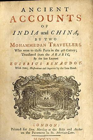 Ancient Accounts of India and China, by: Sirafi, Abu Zayd