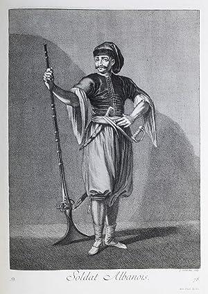 Recueil de cent estampes representant differentes nations: Ferriol, Charles de,