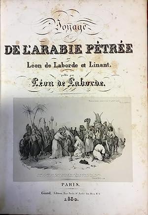 Voyage de l'Arabie Pétrée.: Laborde (Léon Emmanuel