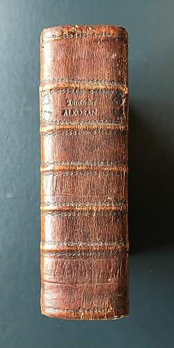 Der Koran, Oder insgemein so genannte Alcoran: QUR'AN/ TRANSLATED BY