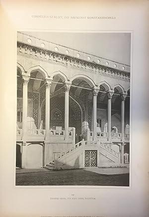 Die Baukunst Konstantinoples. THREE VOLUMES.: GURLITT, Cornelius.