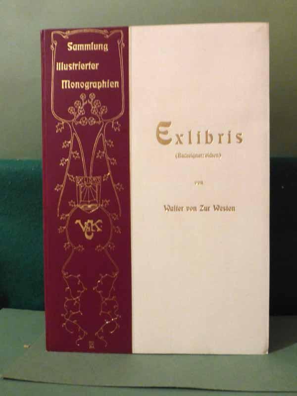 Exlibris.: Zur Westen, Walter