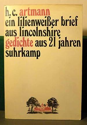 ein lilienweißer brief aus lincolnshire. gedichte aus: Artmann, H. C.
