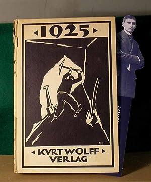 1925. Ein Almanach für Kunst und Dichtung.: Kafka. - Wolff, Kurt (Hrsg.).