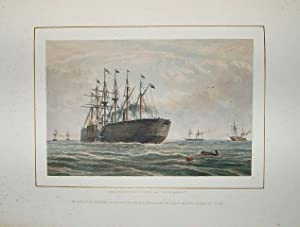 The Atlantic Telegraph. Illustrated by Robert Dudley. Dedicated by Special Permission to His Royal ...