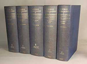 A World Bibliography of Bibliographies and of Bibliographical Catalogues, Calendars, Abstracts, D...