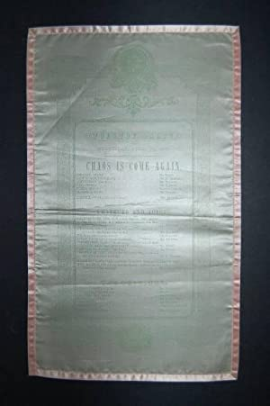 Theatre, Dalby, Wednesday, April 16, 1845. Chaos is Come Again.: THEATRE BILL.