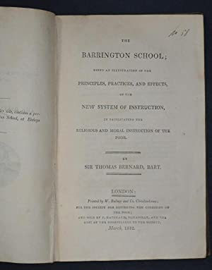 The Barrington School; being an illustration of the Principles, Practices, and Effects, of the New ...