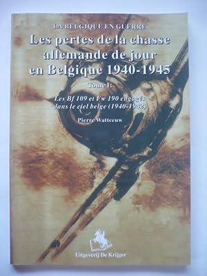 Les pertes de la chasse allemande de: Watteeuw, Pierre