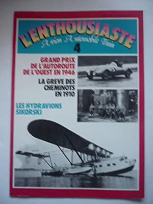 L'enthousiaste - Aviation - Automobile - Train: Collectif