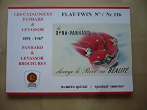 LES CATALOGUES PANHARD & LEVASSOR 1891-1967 - FLAT-TWIN N° 116