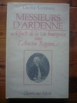 Messieurs d'Ardenne - Aspects de la vie: Leestmans Charles