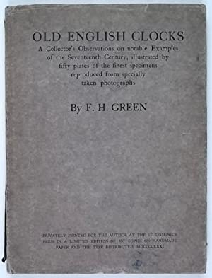 Old English Clocks: Green (F.H.)