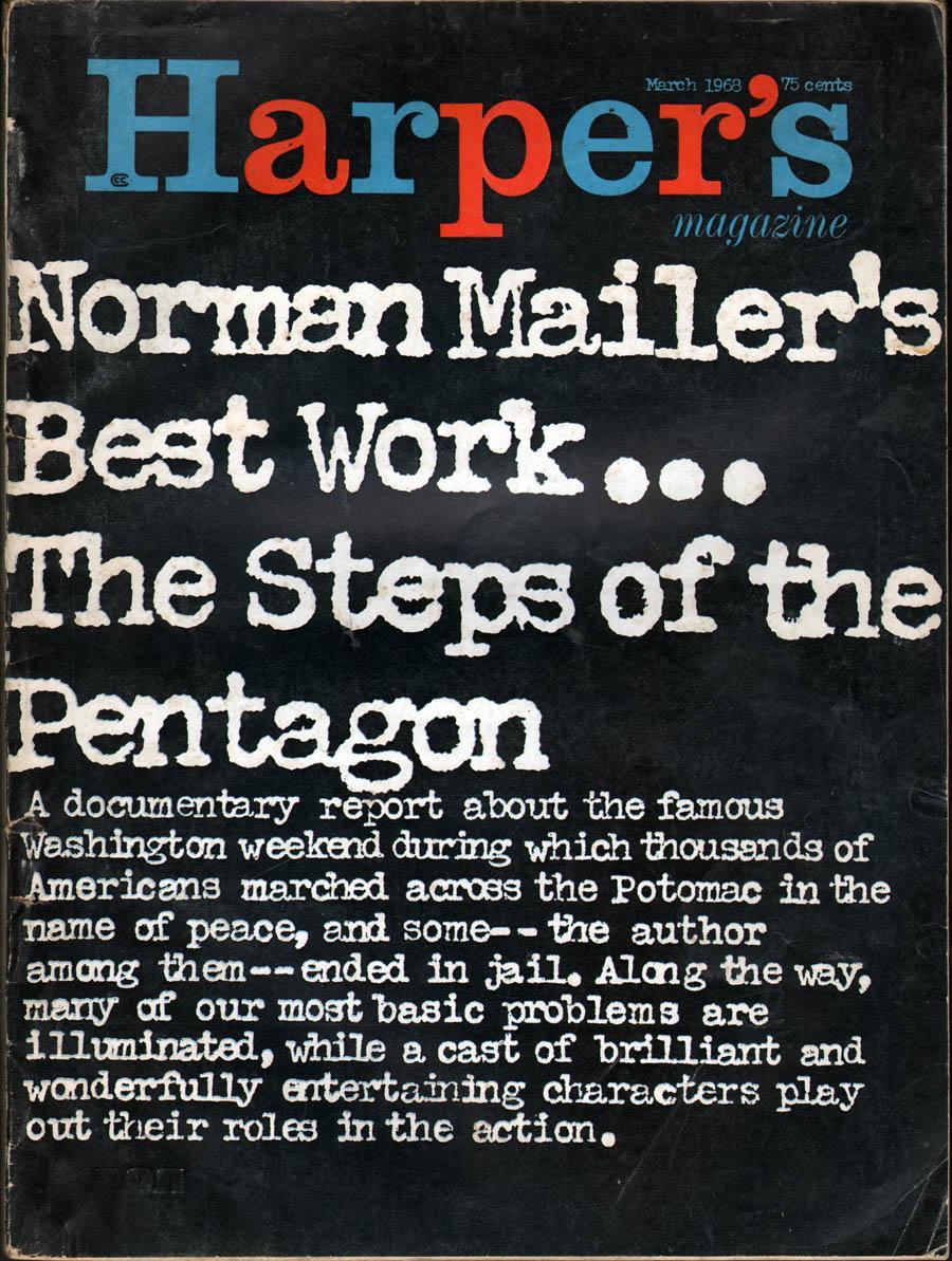 Harper's Magazine March 1968: Morris, Willie, Editor