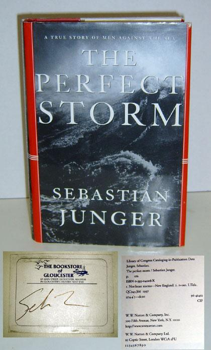 heroism in the perfect storm by sebastian junger Free essay: the perfect storm by sebastian junger was an account of an immense storm and its destructive path through the north atlantic in late october of.