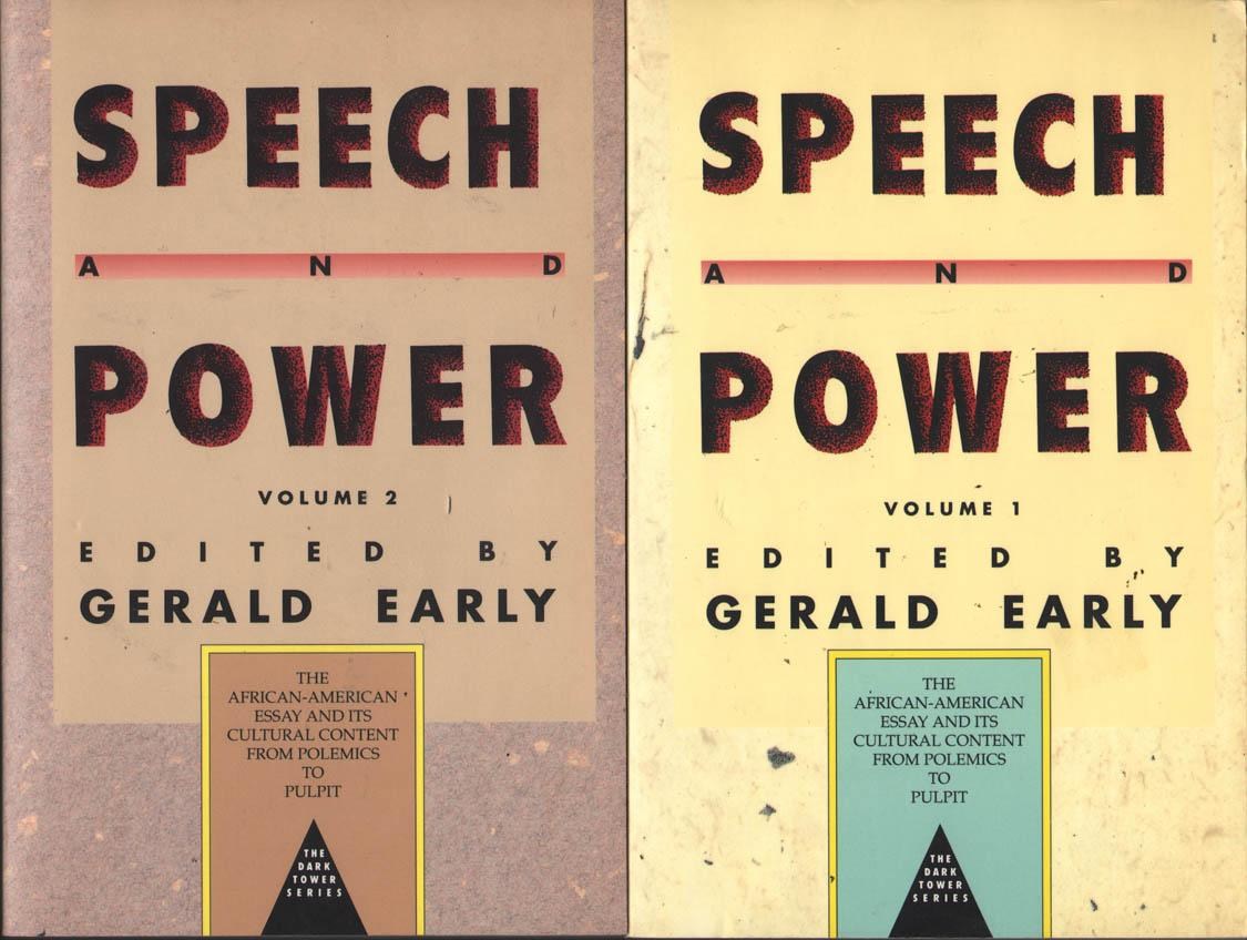 Speech And Power The Africanamerican Essay And Its Cultural  Speech And Power The Africanamerican Essay And Its Cultural Content From  Polemics To