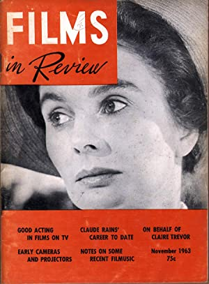 Films in Review Vol XIV No 9: Hart, Henry, Ed.